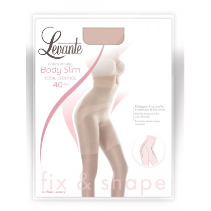 Levante collant contenitivi a vita alta Body Slim TOTAL...