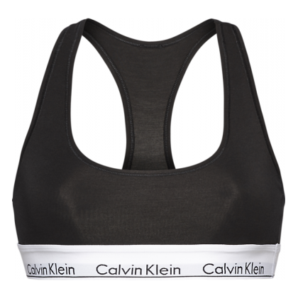 Bralette top Calvin Klein cotone elastico