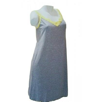 Camicia da notte spalline strette in viscosa Patrizia
