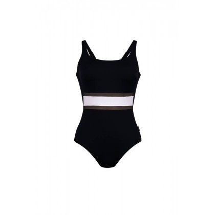 Anita Costume da bagno intero piscina nero coppa E - F