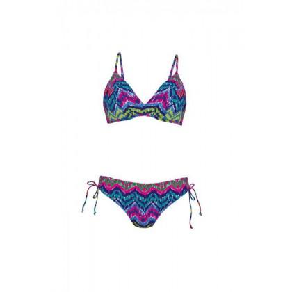 Rosa Faia bikini ferretto con slip ad altezza regolabile