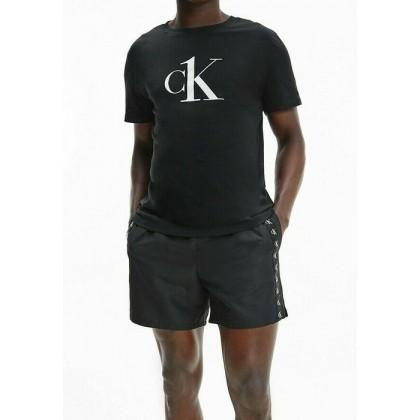 T-shirt uomo manica corta CK one nera