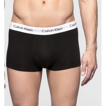 3 Boxer, shorts Calvin Klein cotone elastico nero